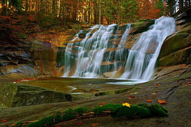 Mumlavský vodopád u harrachova