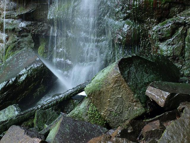 Pod Vaňovským vodopádem